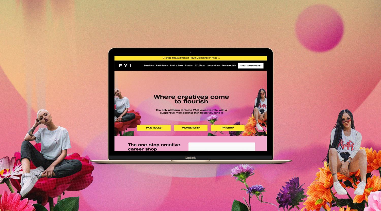 Find Your Intern_Creative-fashion-collage-membership-Kajabi-platform